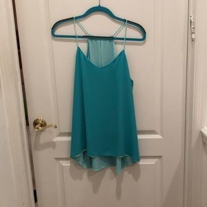 Express Chiffon Tank (Date Night, Business Casual)